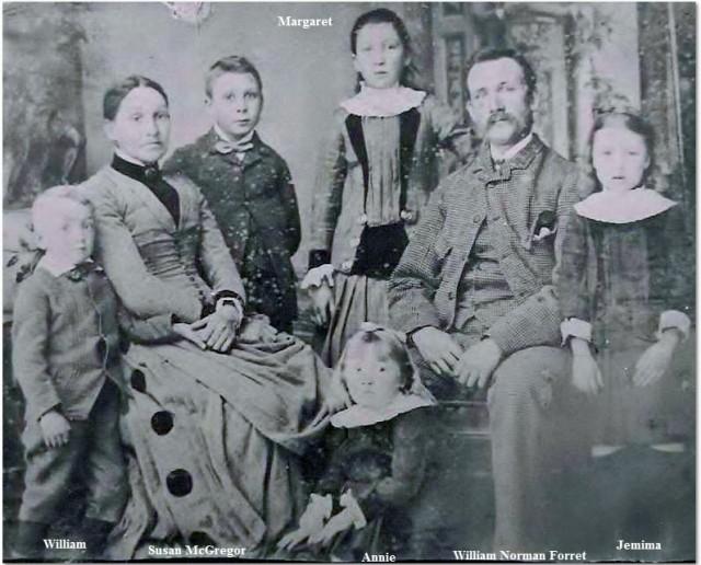 Andrew Forret family c-1890