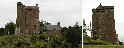 Kinnaird_Castle