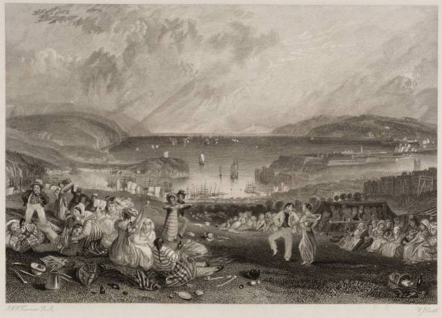 Plymouth, Devonshire 1832 by Joseph Mallord William Turner 1775-1851